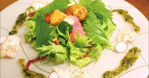ギロギロ海の恵みサラダ