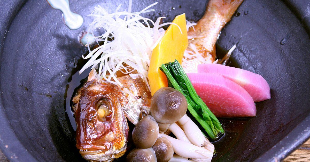 極鮮 煮魚