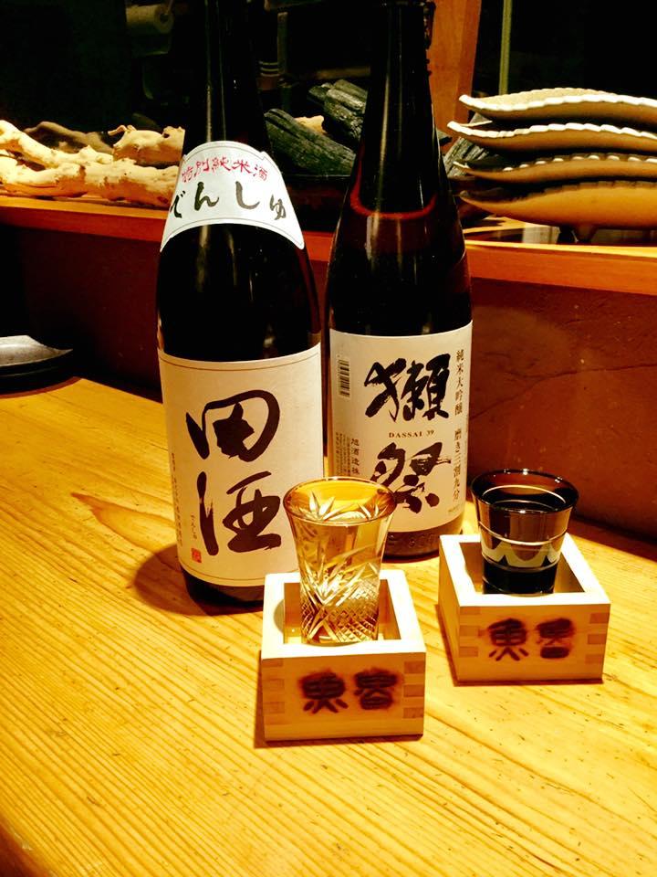 日本酒 田酒、獺祭