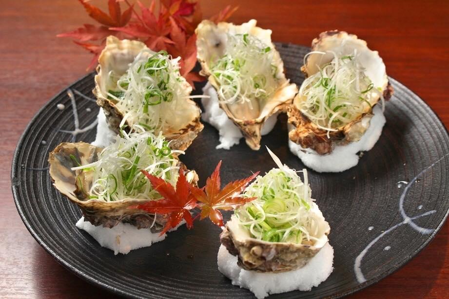 浜名湖産牡蠣