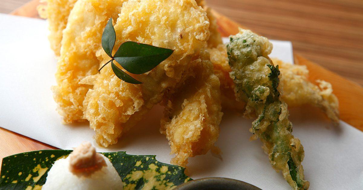 旬海の天ぷら盛り