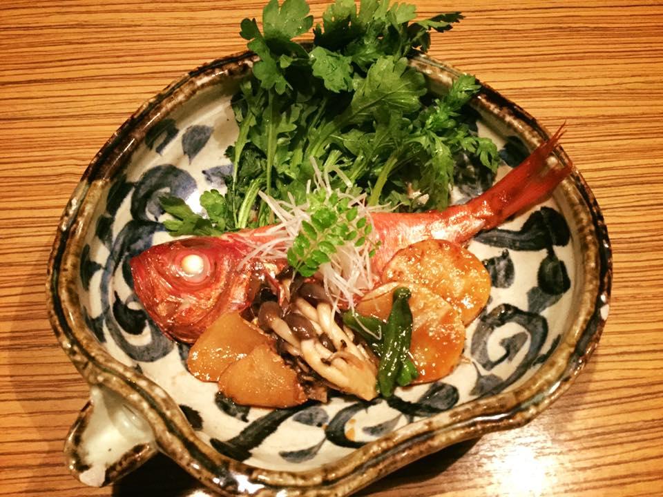 魚魯魚魯 金目鯛煮魚